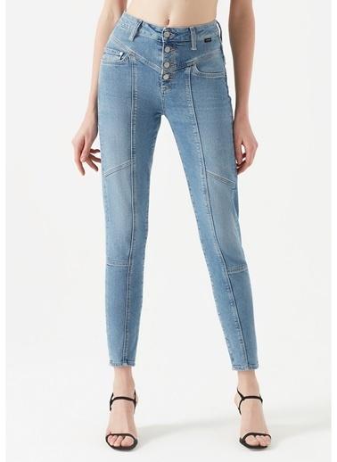Mavi Mavi Lıly Indigo Gold Icon Denim Pantolon Renksiz